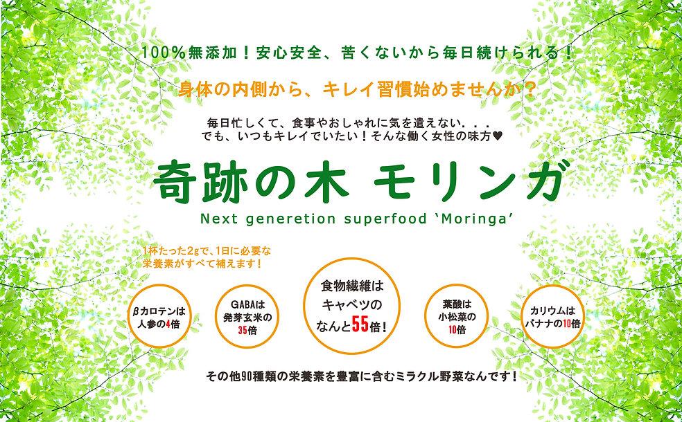 100%無添加,キレイ習慣,女性の味方,奇跡の木,モリンガ,moringa,90種類の栄養素,ミラクル野菜