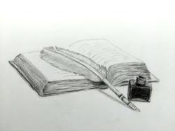 Libro y pluma
