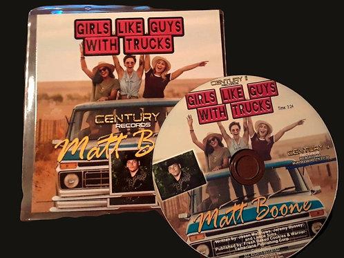 Girls Like Guys With Trucks (CD SINGLE)
