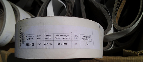 Лента шлиф 60х1250 для заточного станка Knecht