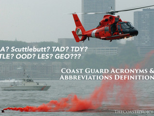 Coast Guard Acronyms and Abbreviations Definitions