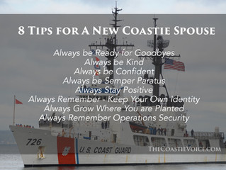 8 Tips for New A Coastie Spouse