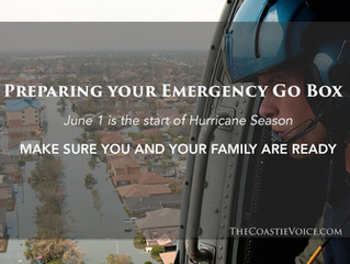 Preparing your Emergency Go Box