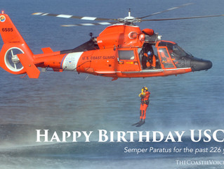 Happy 226th Birthday US Coast Guard!