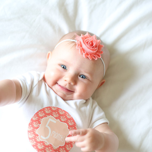 Leighlyn Rose - {5 Months Old}