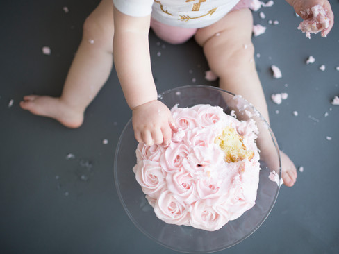 Leighlyn is One - {Cake Smash Session}