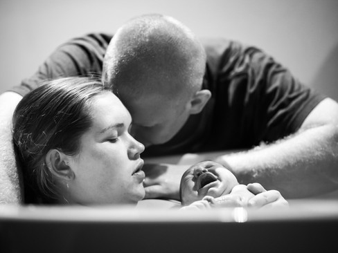 - Edyn Grace - {My All Natural Water Birth}