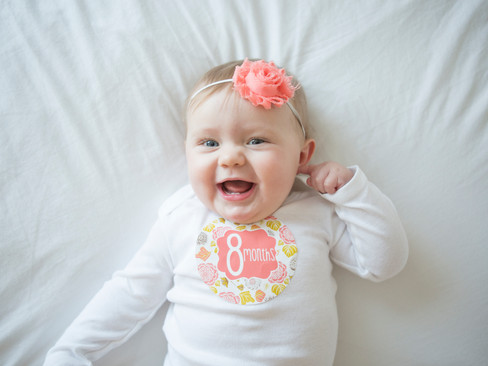 Leighlyn Rose - {8 Months Old}