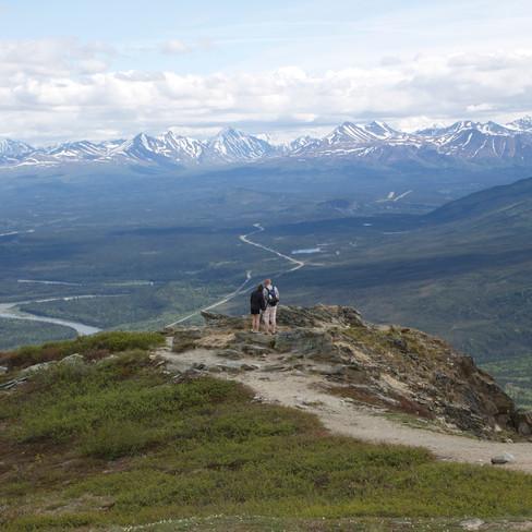 Mt. Healy Hike - {Living in AK}