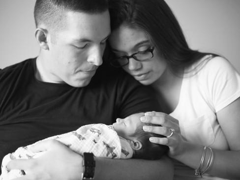 Baby Emmitt - {Lifestyle Newborn}