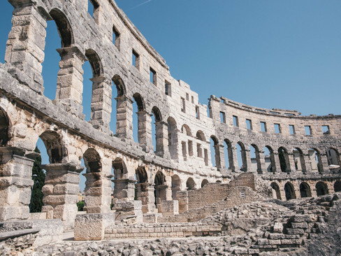Pula, Croatia - {Living in Italy}