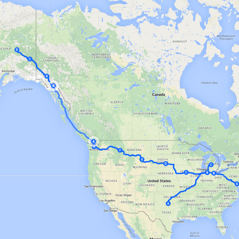Our Move Across the Country - {MD to AK}