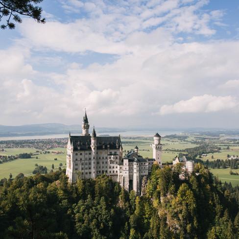 The Eagle's Nest - Garmisch - Neuschwanstein Castle   - {Travel}