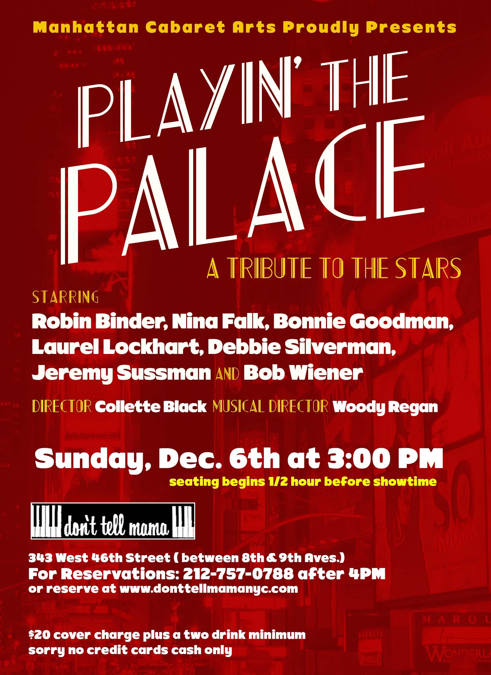 Playin the Palace