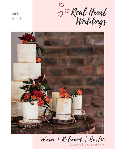 Real Heart Weddings Mini Magazine - Wint