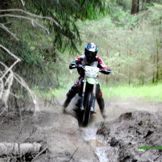 I love riding motorbikes