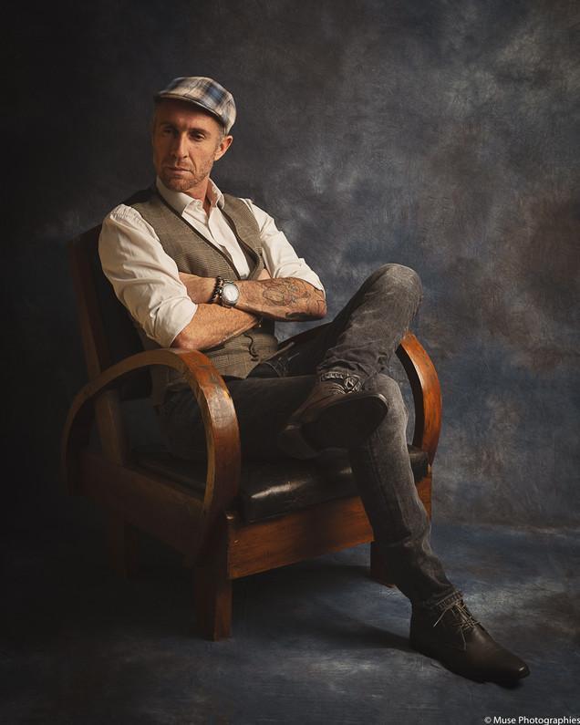 Portrait homme Fine Art