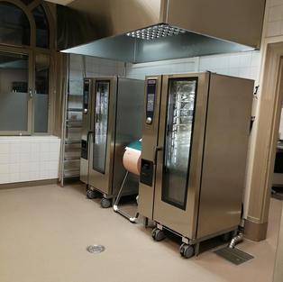 Köksutrustning på skolor