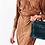 Thumbnail: Bolso Shopper Azul Terciopelo