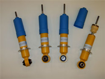 MG TF Bilstein suspension ride improvement kit