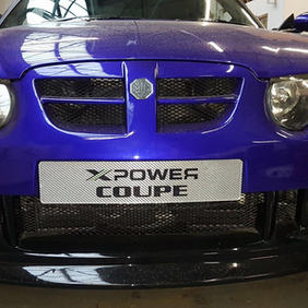 Coupe front end