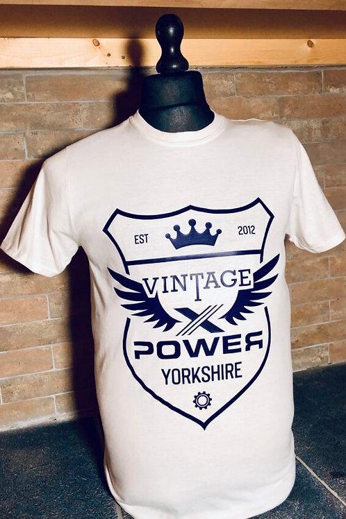 Crest Tshirt-White