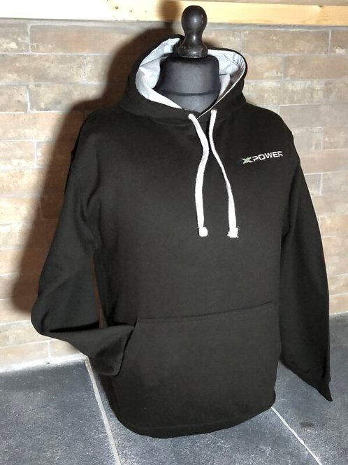 Xpower Hoodie – Black and Grey
