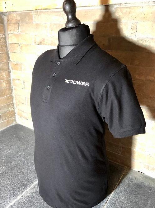 Xpower Polo Shirt - Black