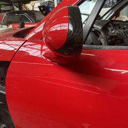 Carbon fibre mirrors