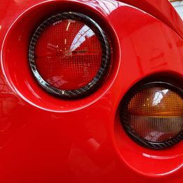 Rear lights surrounds
