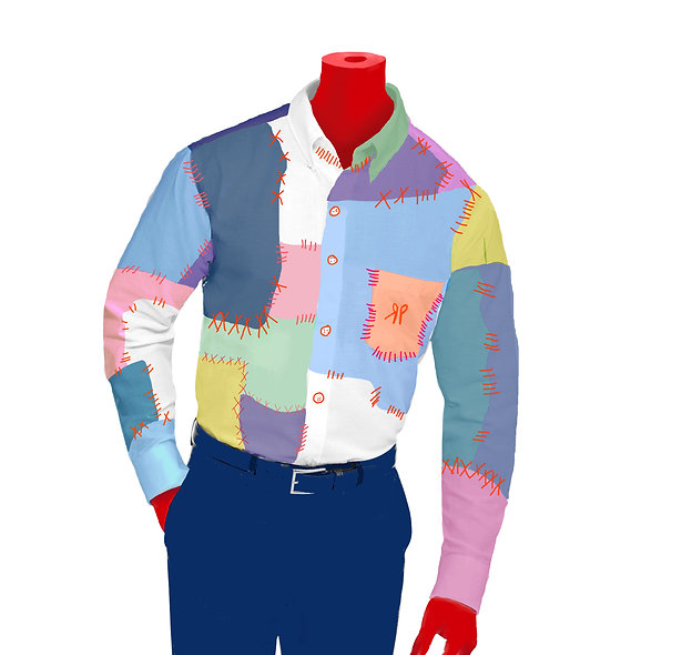 Original Patchwork Shirt
