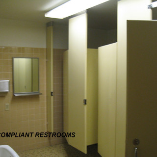 ADA-compliant restrooms.