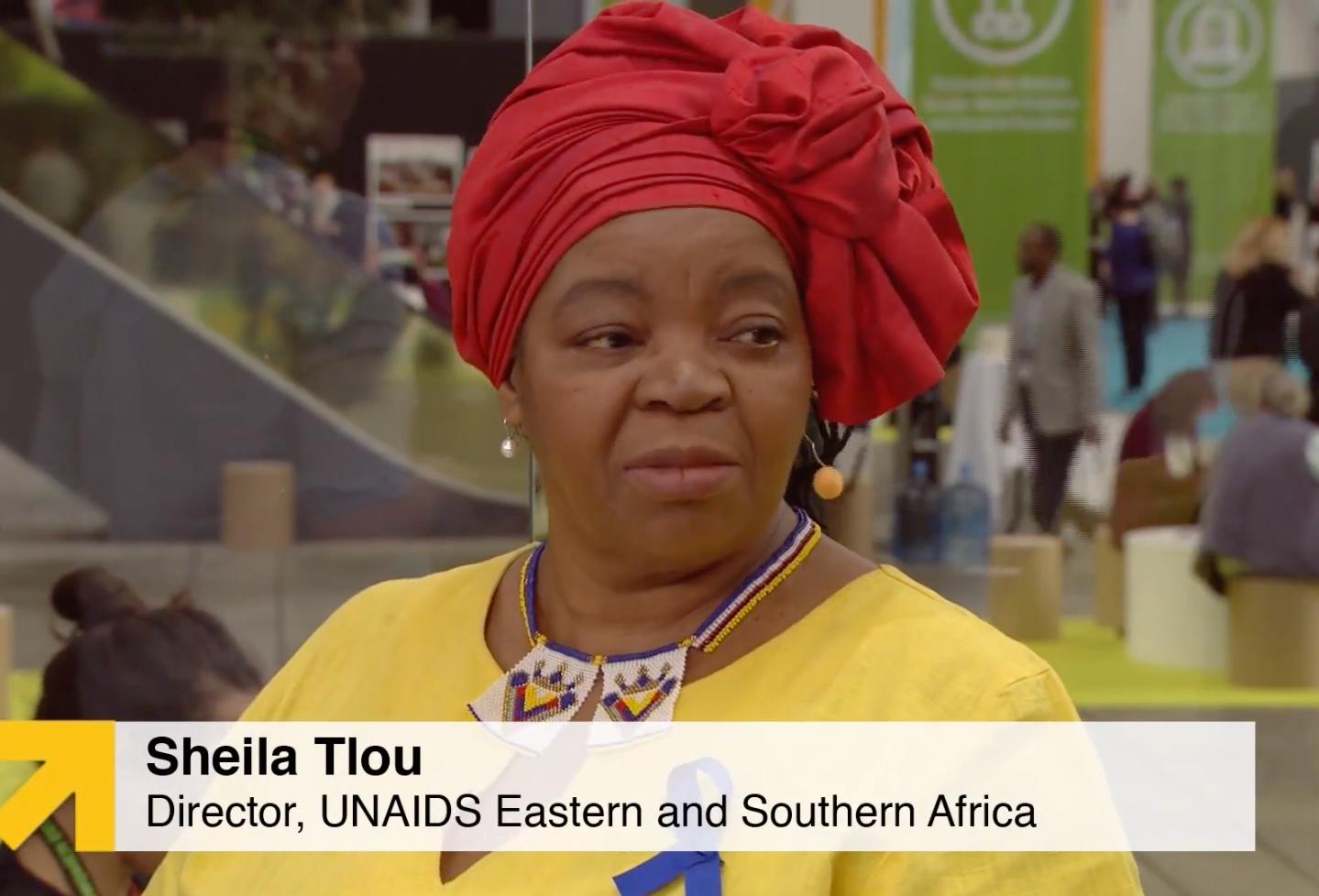 Sheila Tlou, UNAIDS