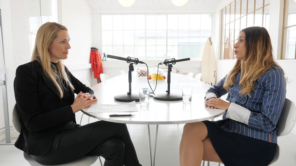kvindekompagniet iværksætter podcast