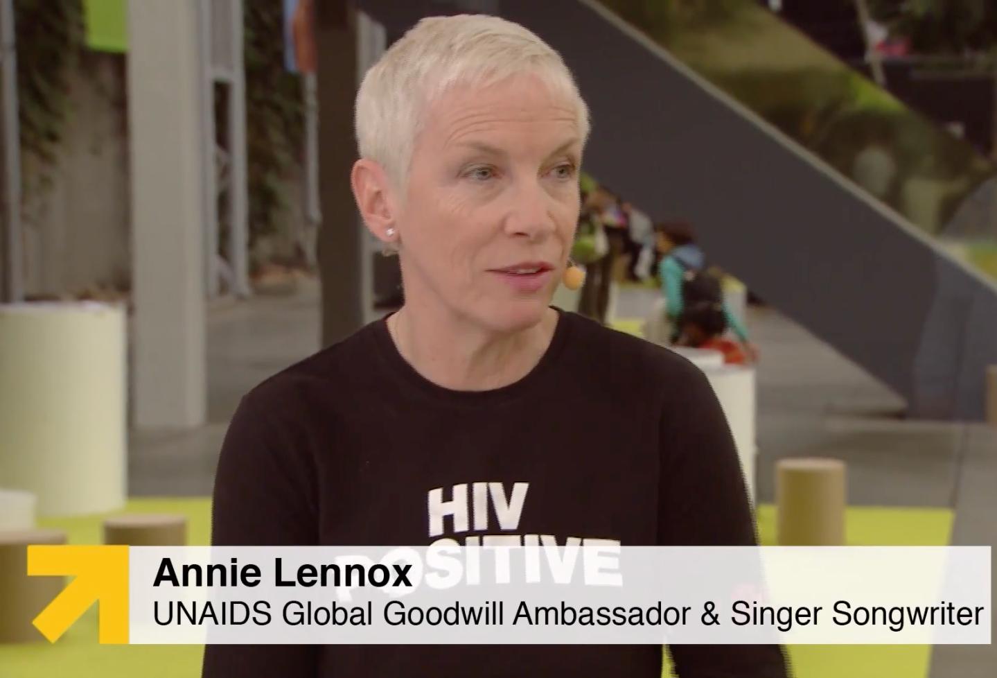 Annie Lennox, UNAIDS