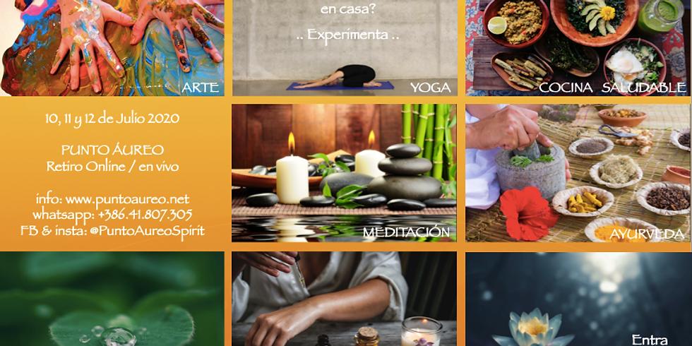 Ayurveda, Arte, Mindfulness, Yoga, Meditacion, Alimentacion Sana, Automasaje..