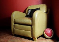 Mr. Peabody's favorite chair