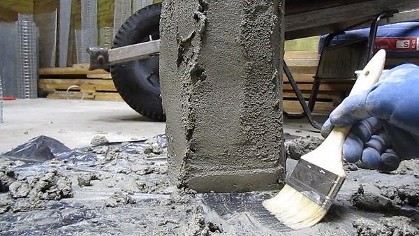 concrete yard light