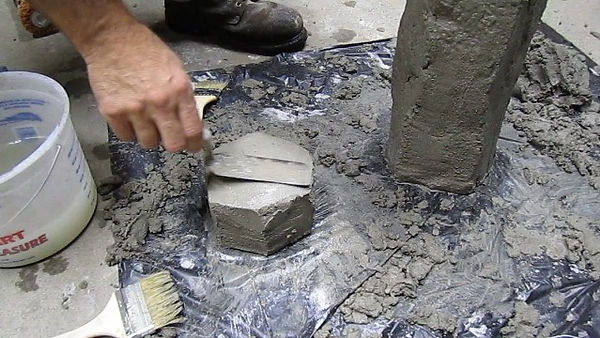 concrete light finish