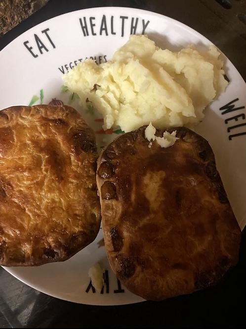 Minced Beef Onion Pie