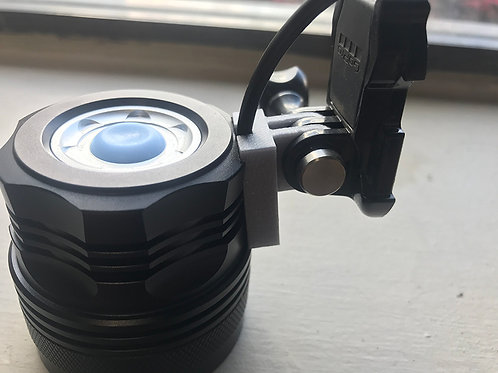 Light Adapter for GoPro-Style Mount