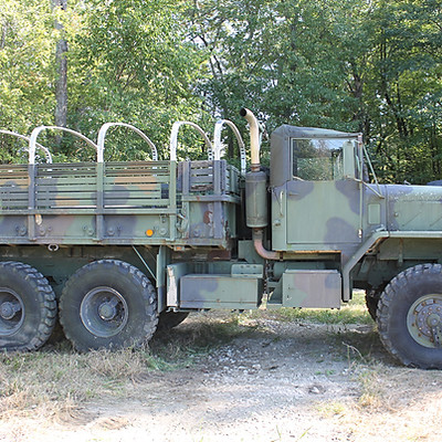 M925A2 Cargo with Winch