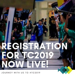 Teen Conference 2019 Registration is  now open.