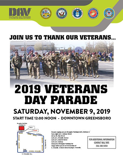 2019 Veterans Day Parade (Revised)