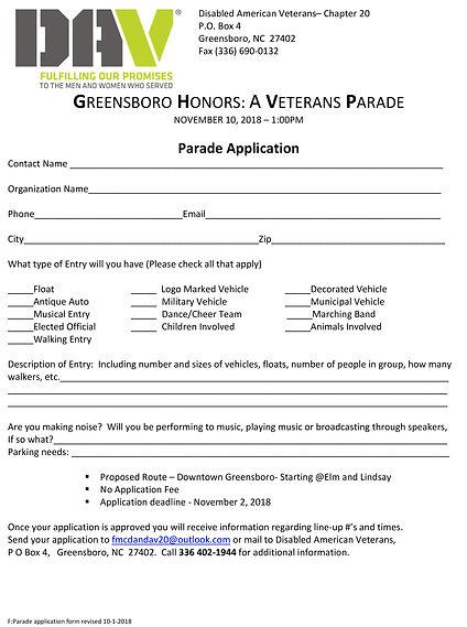 Parade application form revised 10-1-201