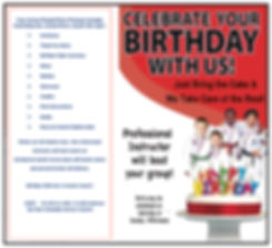 Martial Arts Indiana PA birthday Party