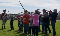 Musket training