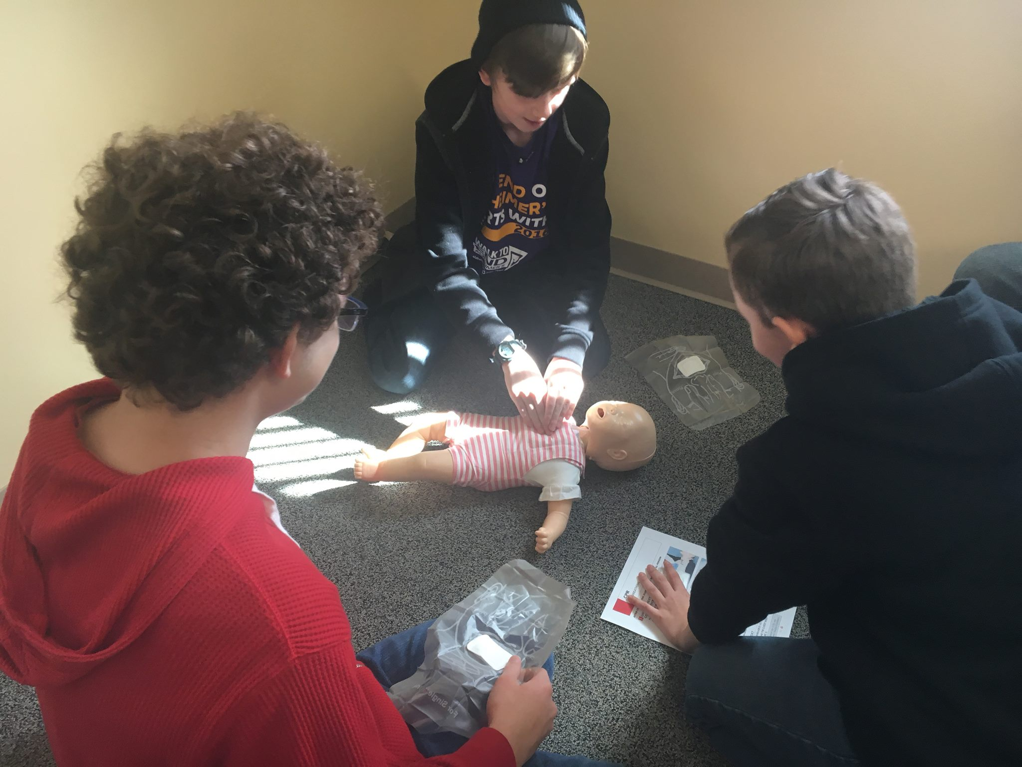 Infant CPR in Basic First Aid