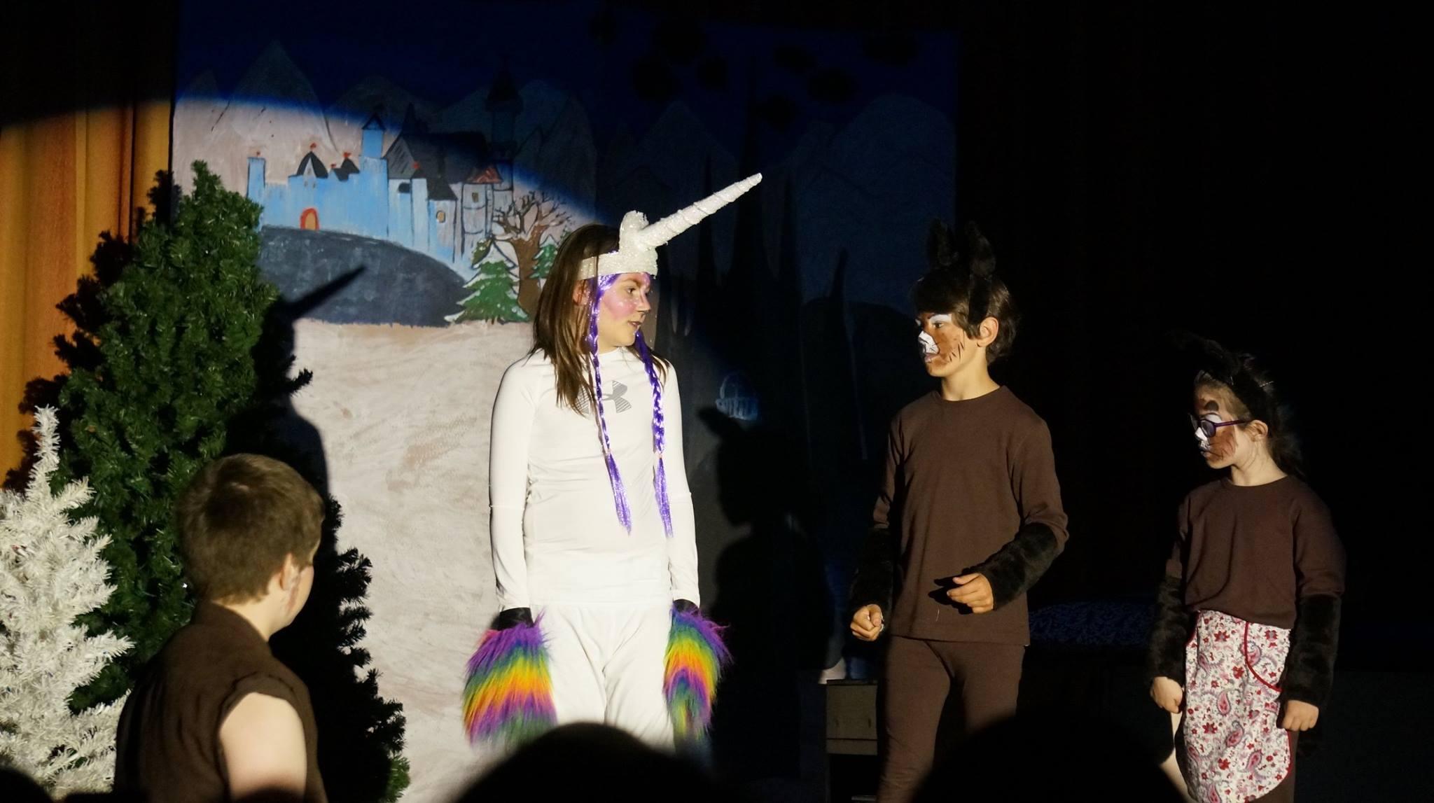 Unicorn and Mr. Beaver