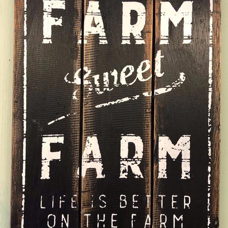 Hoe staat het met het boerenleven?